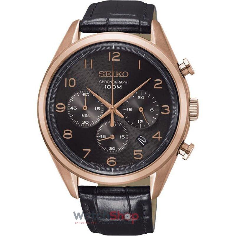 Ceas Seiko Sports SSB296P1 Cronograf barbatesc de mana
