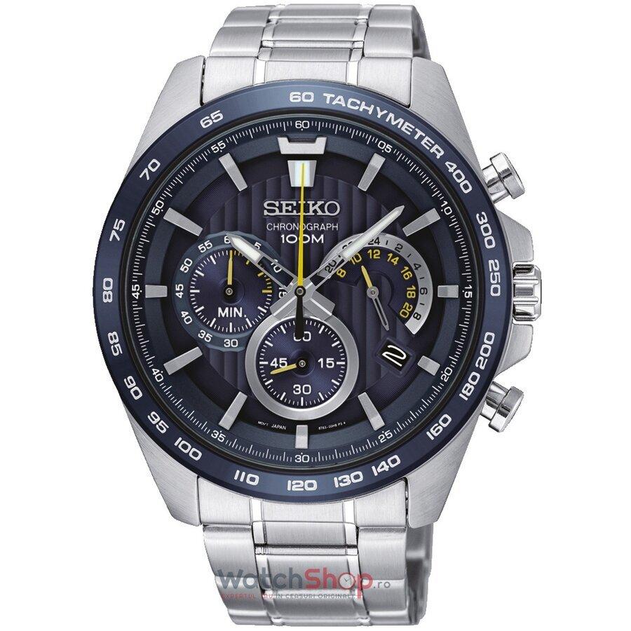 Ceas Seiko Sports SSB301P1 Cronograf barbatesc de mana