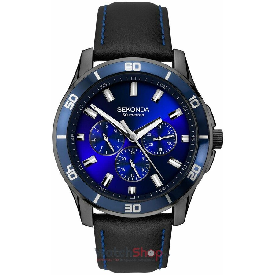 Ceas Sekonda Midnight Blue 1634 original barbatesc