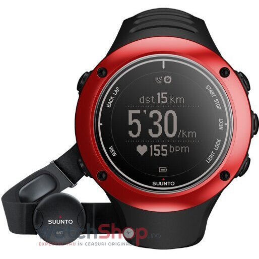 Ceas Suunto OUTDOOR SS019209000 Ambit2 S Red HR barbatesc de mana