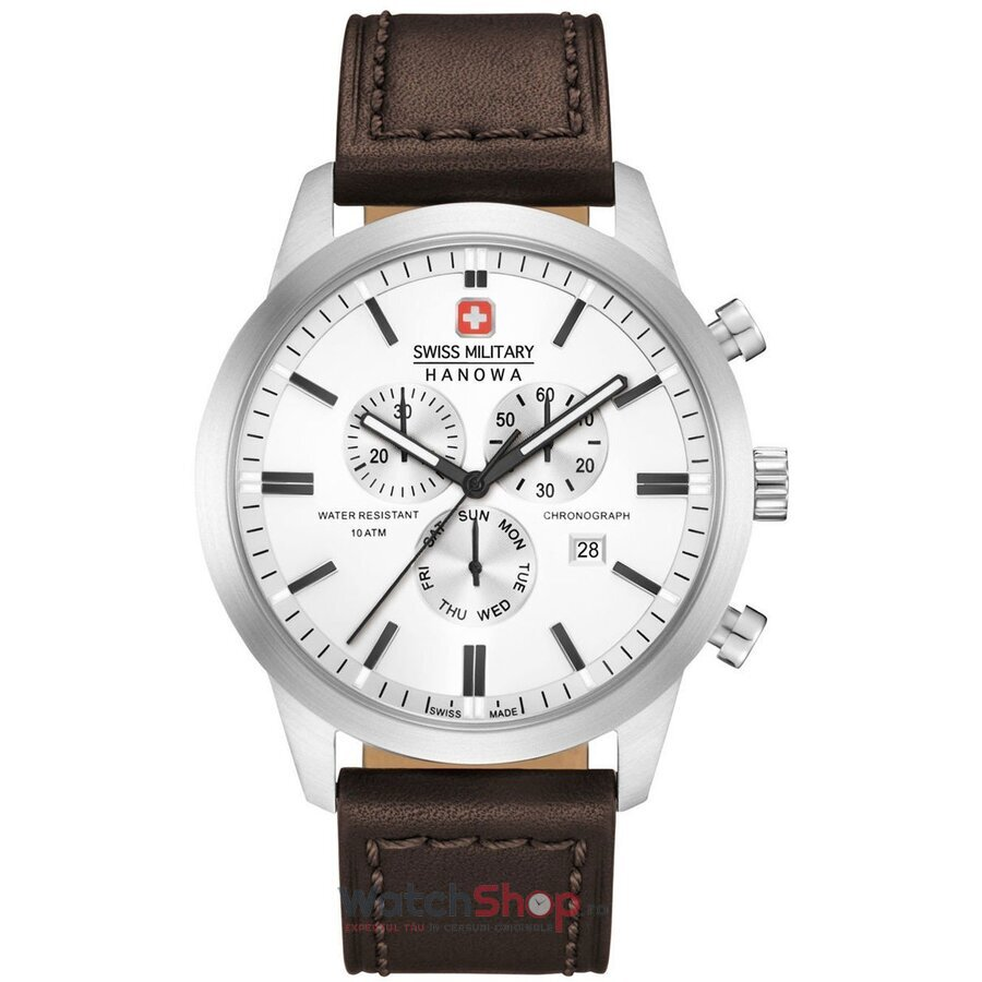 Ceas Swiss Military By Hanowa 06-4308.04.001 Classic Chrono barbatesc de mana