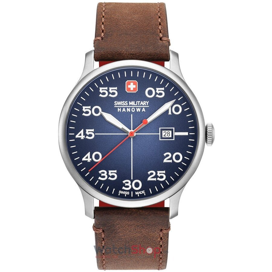 Ceas Swiss Military By Hanowa 06-4326.04.003 Active Duty original barbatesc