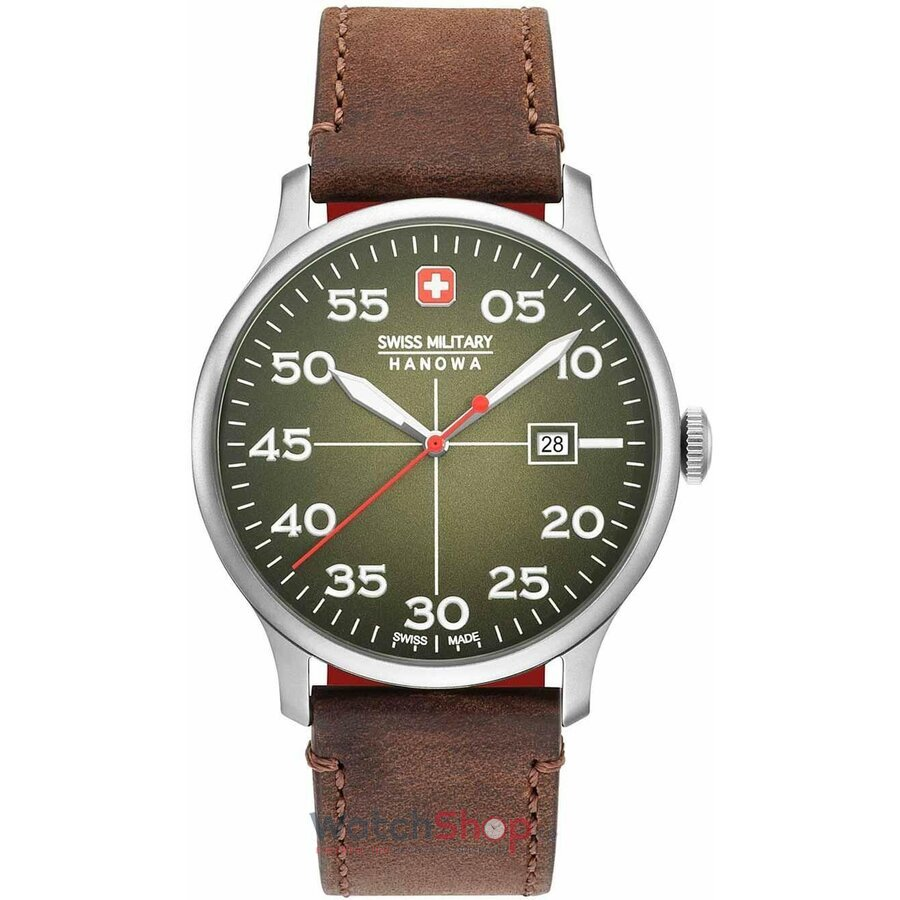 Ceas Swiss Military By Hanowa 06-4326.04.006 Active Duty original barbatesc