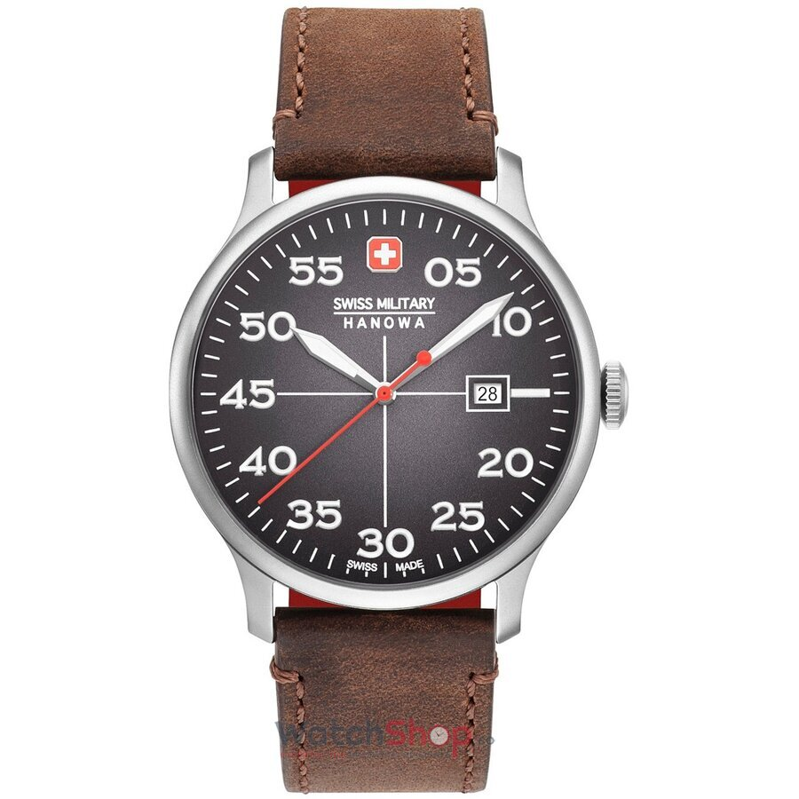 Ceas Swiss Military By Hanowa 06-4326.04.009 Active Duty original barbatesc