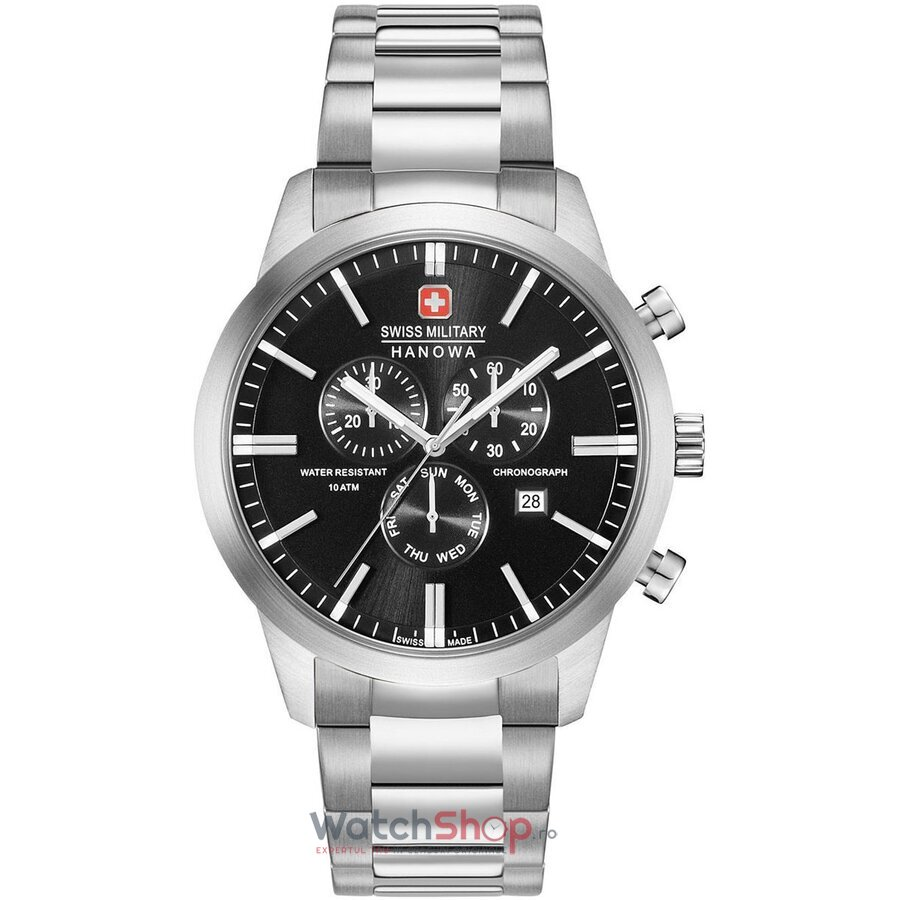 Ceas Swiss Military By Hanowa 06-5308.04.007 Classic Chrono barbatesc de mana