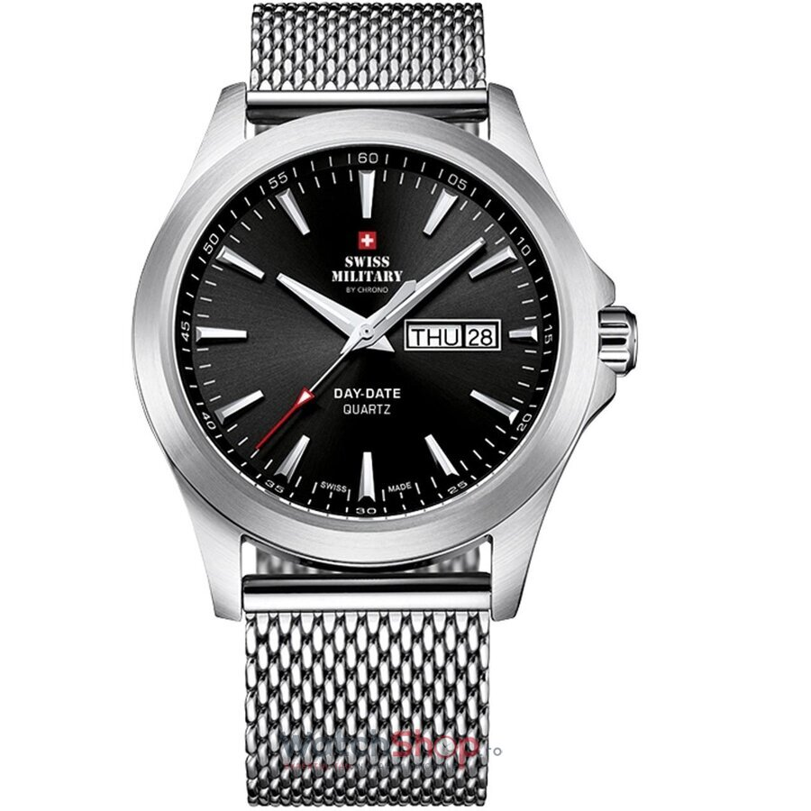 Ceas Swiss Military by CHRONO SMP36040.01 original barbatesc