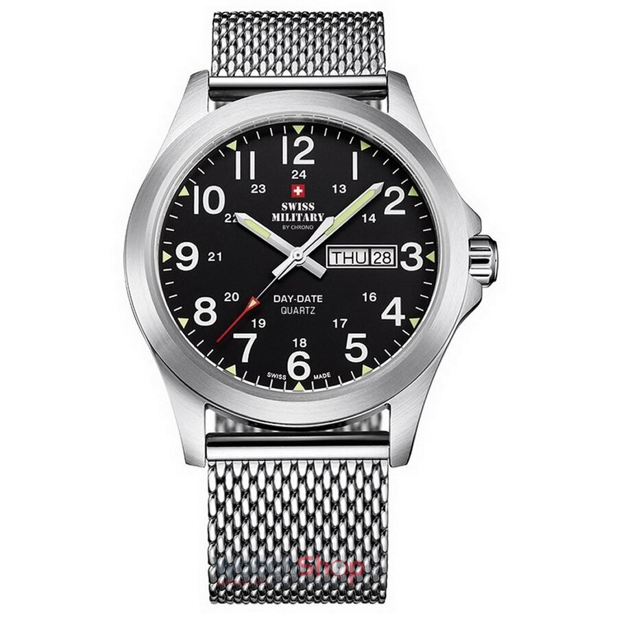 Ceas Swiss Military by CHRONO SMP36040.13 original barbatesc