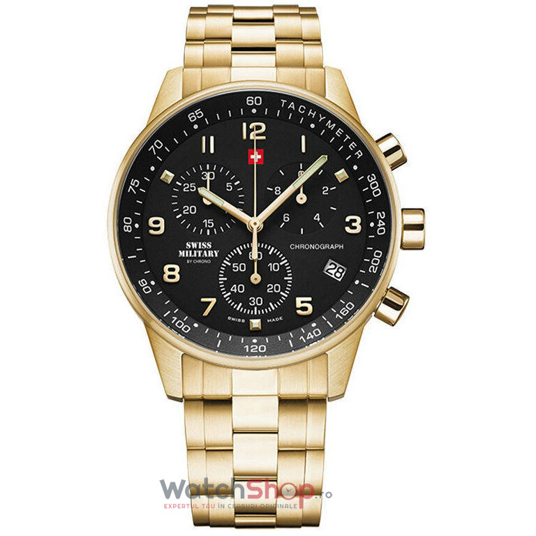Ceas Swiss Military by Chrono SM34012.12 Cronograf barbatesc de mana