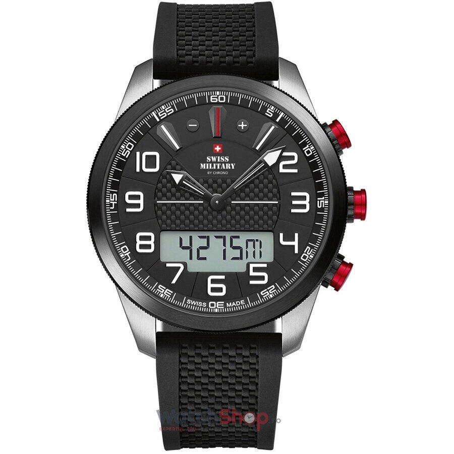 Ceas SwissMilitary by Chrono SM34061.01 Cronograf barbatesc de mana