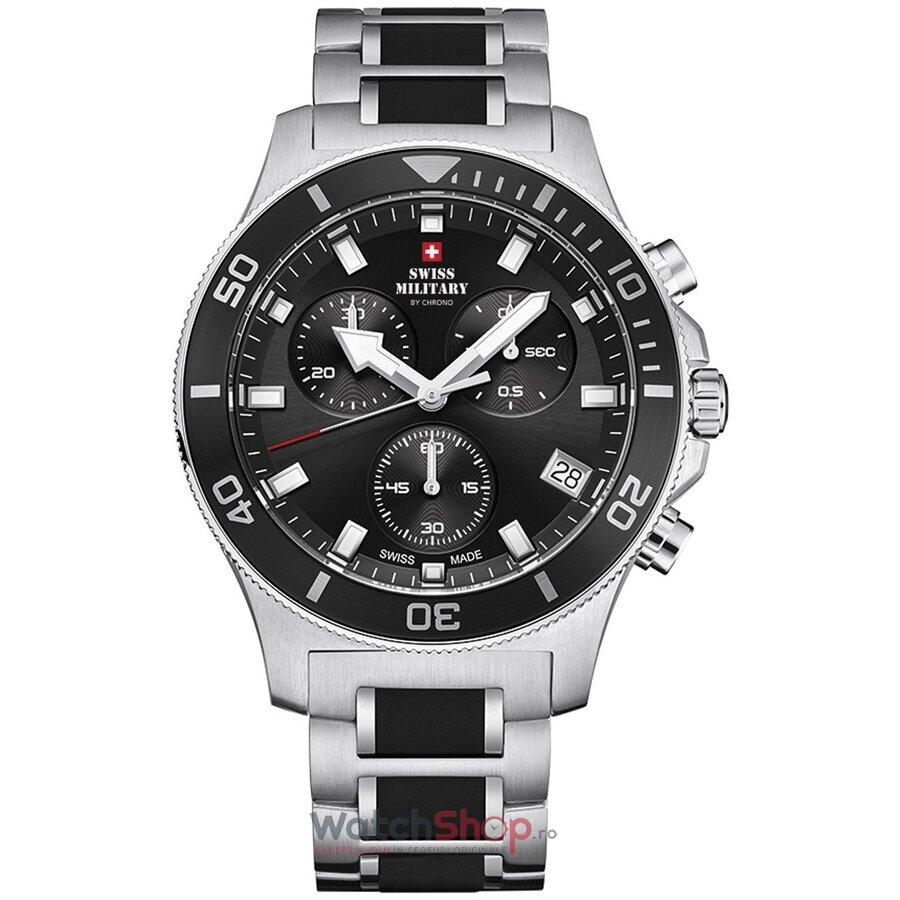 Ceas SwissMilitary by Chrono SM34067.01 Cronograf barbatesc de mana