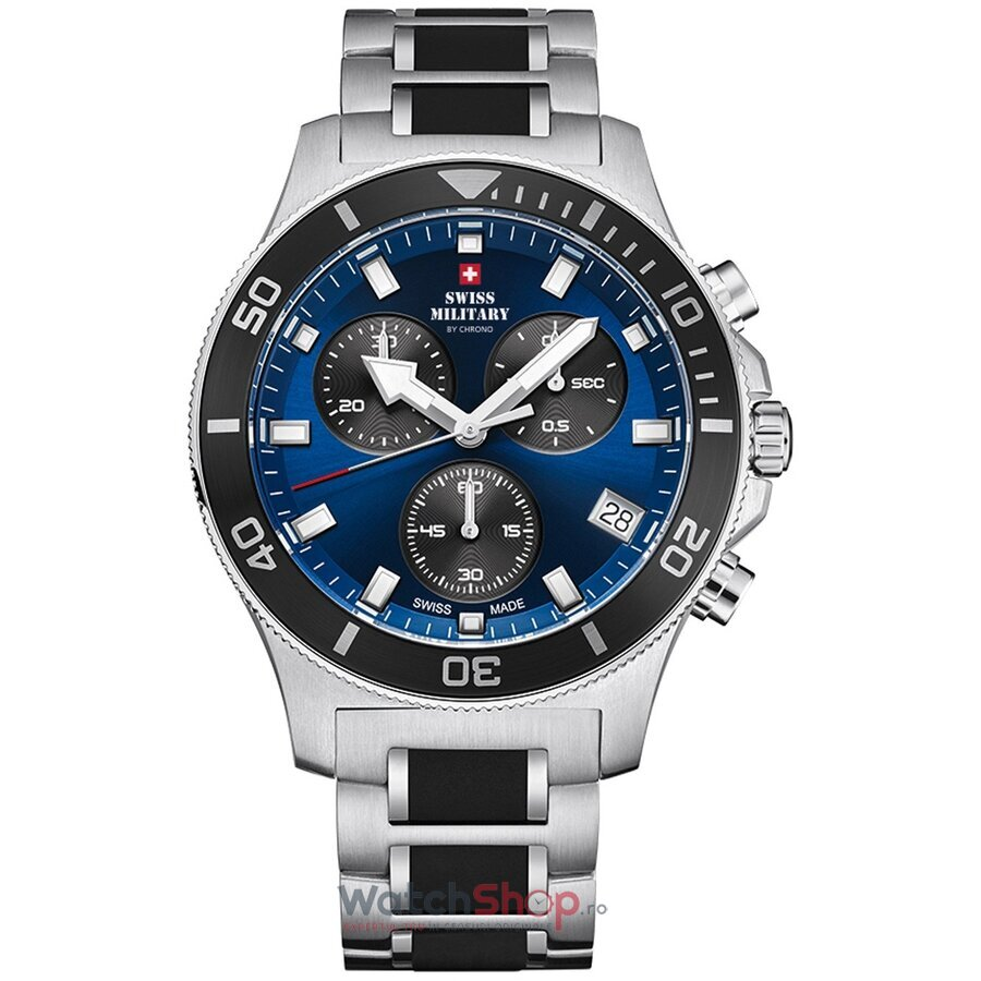 Ceas Swiss Military by Chrono SM34067.02 Cronograf barbatesc de mana