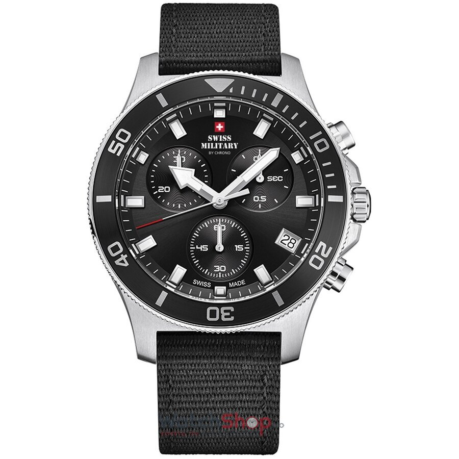Ceas Swiss Military by Chrono SM34067.04 Cronograf barbatesc de mana