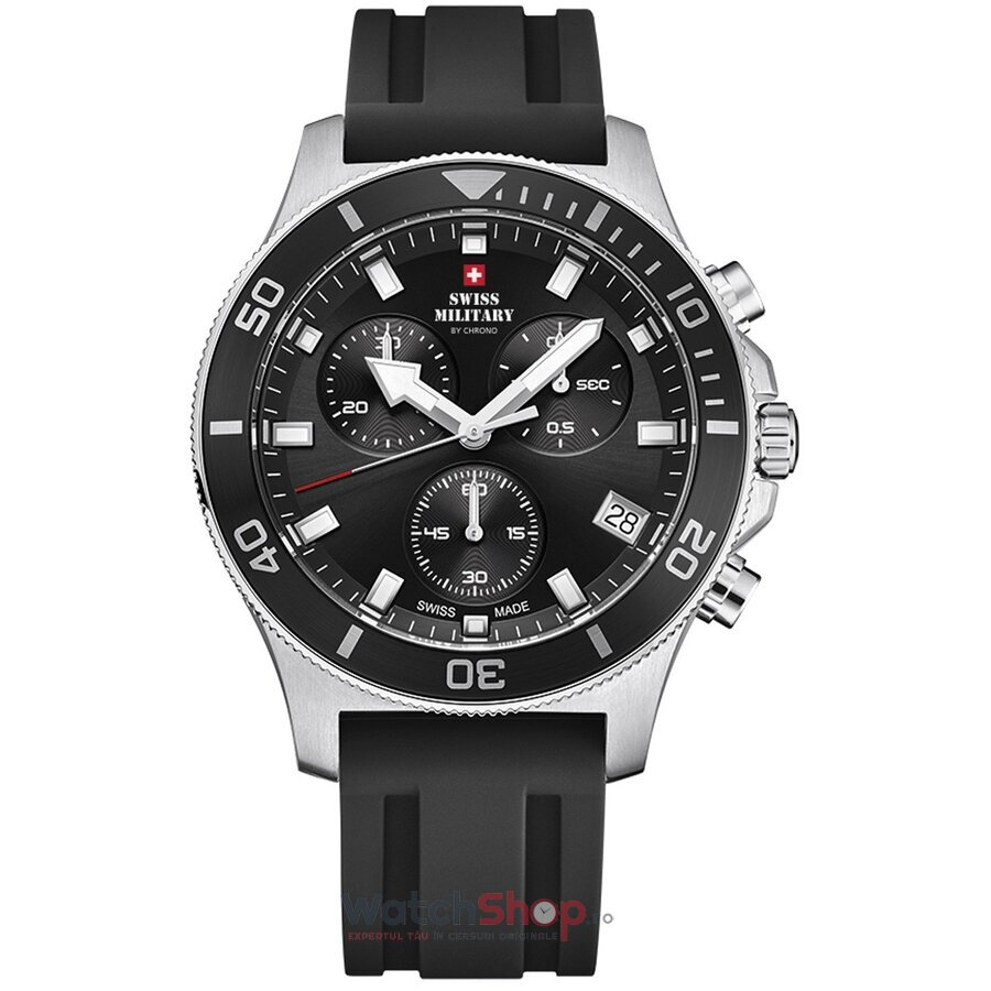 Ceas Swiss Military by Chrono SM34067.07 Cronograf barbatesc de mana