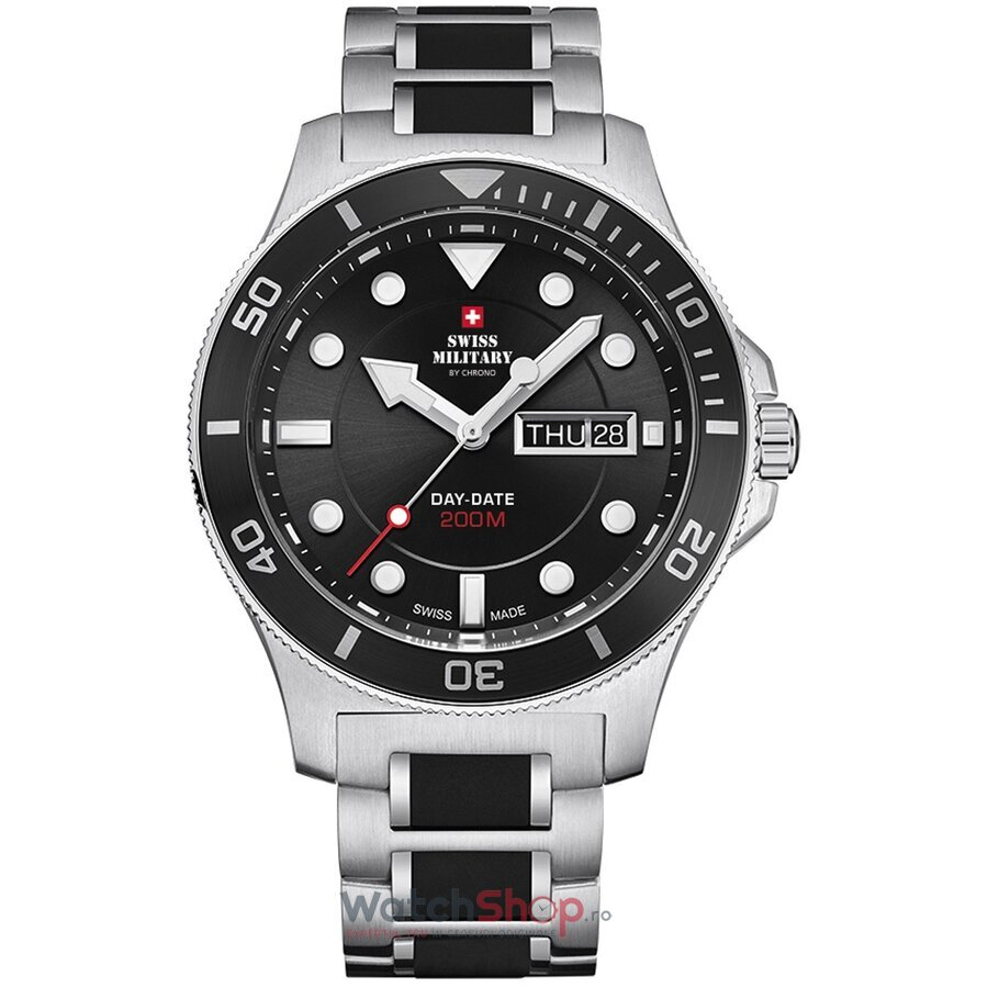 Ceas Swiss Military by Chrono SM34068.01 barbatesc de mana