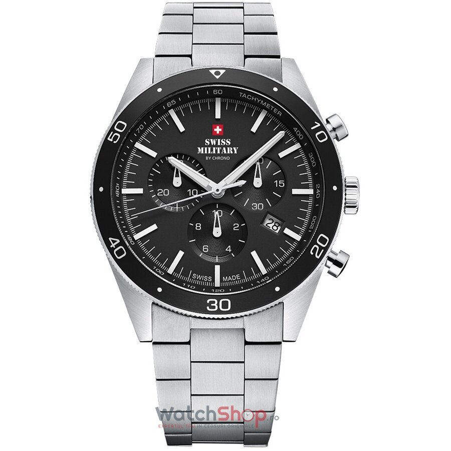 Ceas Swiss Military by Chrono SM34079.01 Cronograf barbatesc de mana