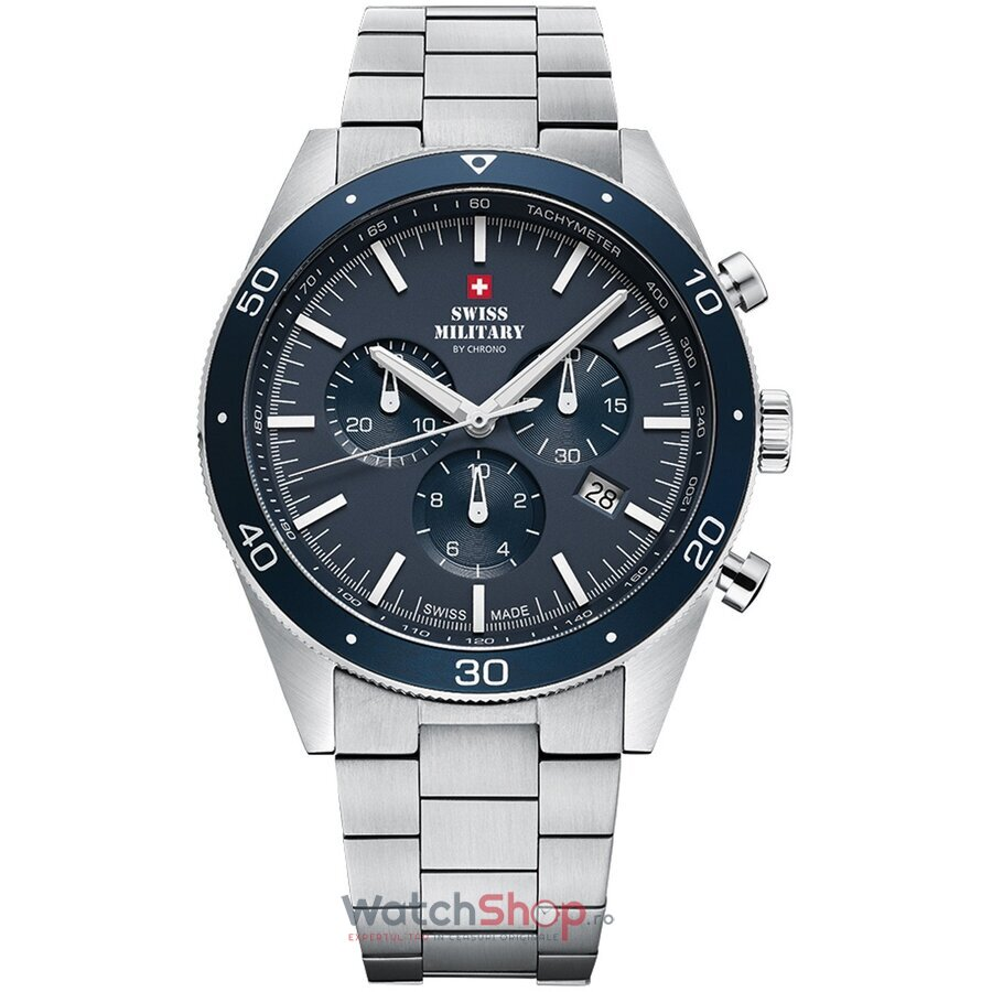 Ceas Swiss Military by Chrono SM34079.02 Cronograf barbatesc de mana