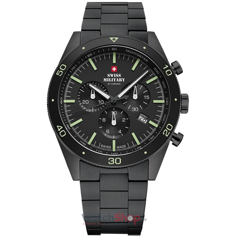 Ceas Swiss Military by Chrono SM34079.03 Cronograf barbatesc de mana