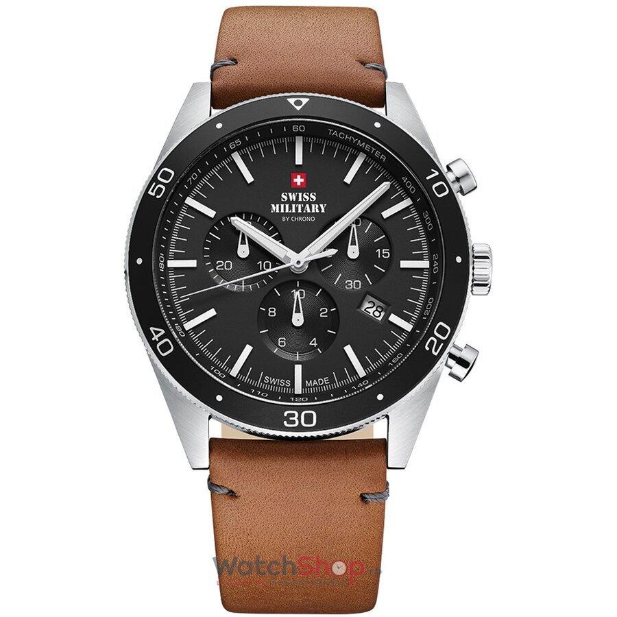Ceas SwissMilitary by Chrono SM34079.04 Cronograf barbatesc de mana