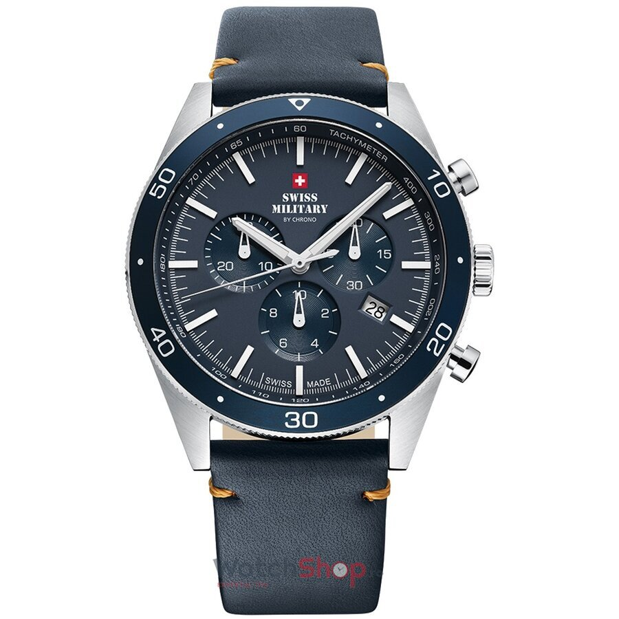 Ceas Swiss Military by Chrono SM34079.05 Cronograf barbatesc de mana