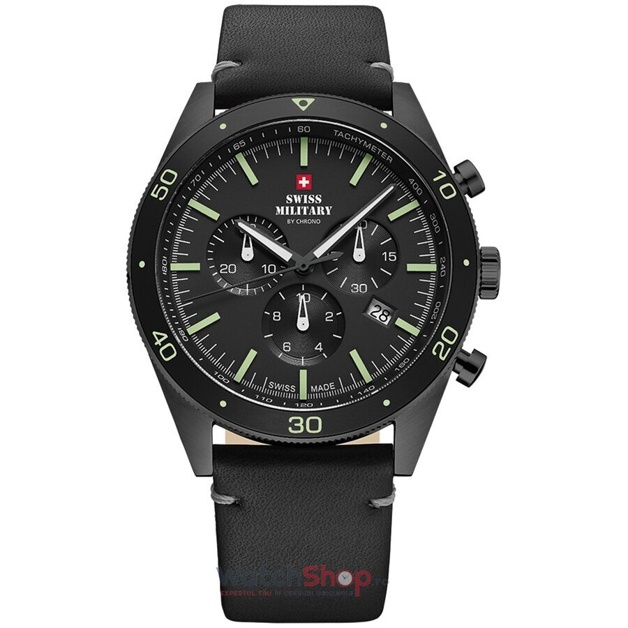 Ceas Swiss Military by Chrono SM34079.08 Cronograf barbatesc de mana