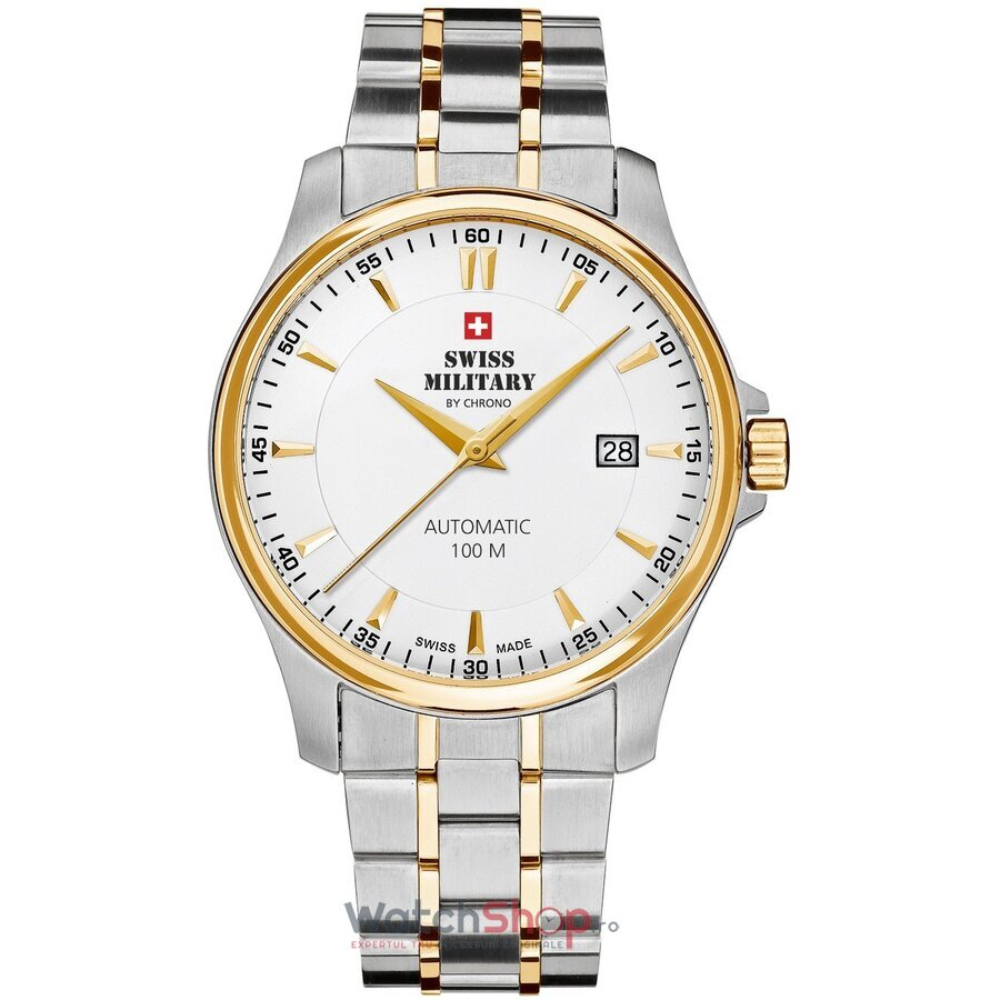 Ceas Swiss Military by Chrono SMA34025.03 Automatic barbatesc de mana
