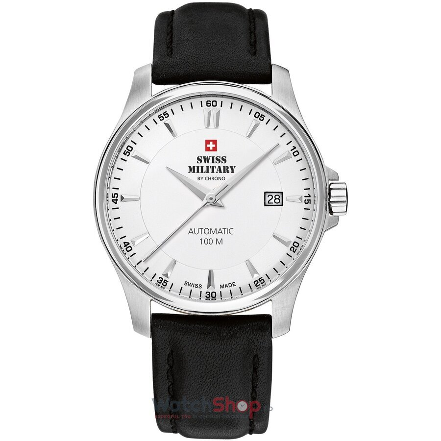Ceas Swiss Military by Chrono SMA34025.06 Automatic barbatesc de mana