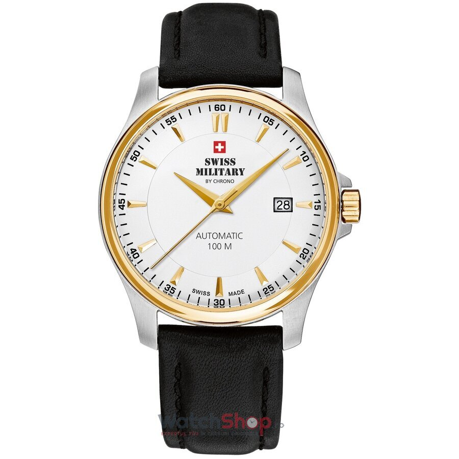 Ceas Swiss Military by Chrono SMA34025.07 Automatic barbatesc de mana