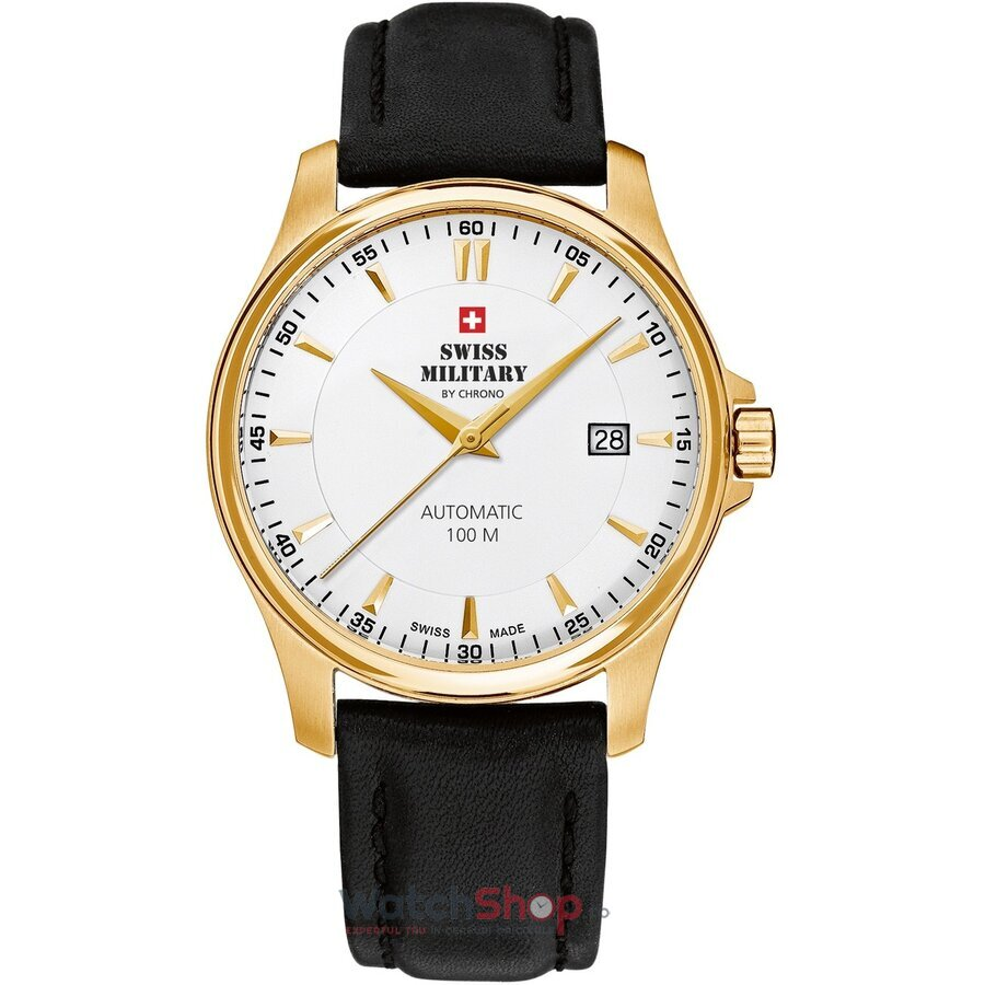 Ceas Swiss Military by Chrono SMA34025.08 Automatic barbatesc de mana