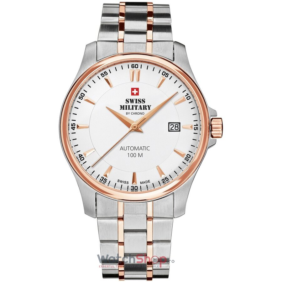 Ceas Swiss Military by Chrono SMA34025.09 Automatic barbatesc de mana