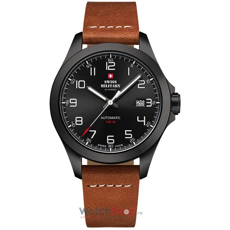 Ceas Swiss Military by Chrono SMA34077.05 Automatic barbatesc de mana
