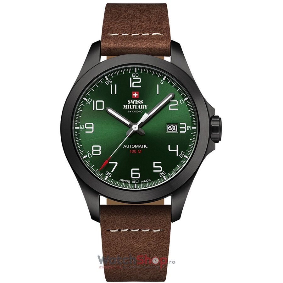 Ceas Swiss Military by Chrono SMA34077.06 Automatic barbatesc de mana