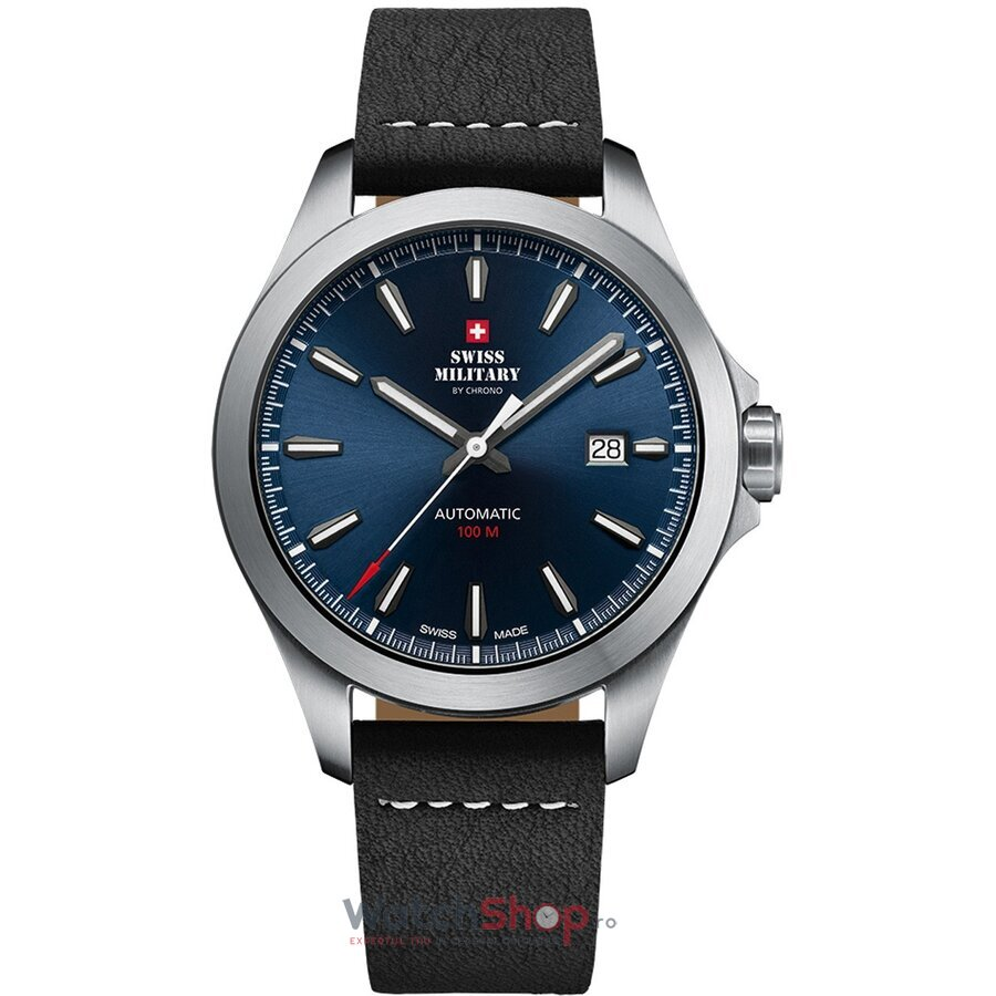 Ceas Swiss Military by Chrono SMA34077.08 Automatic barbatesc de mana