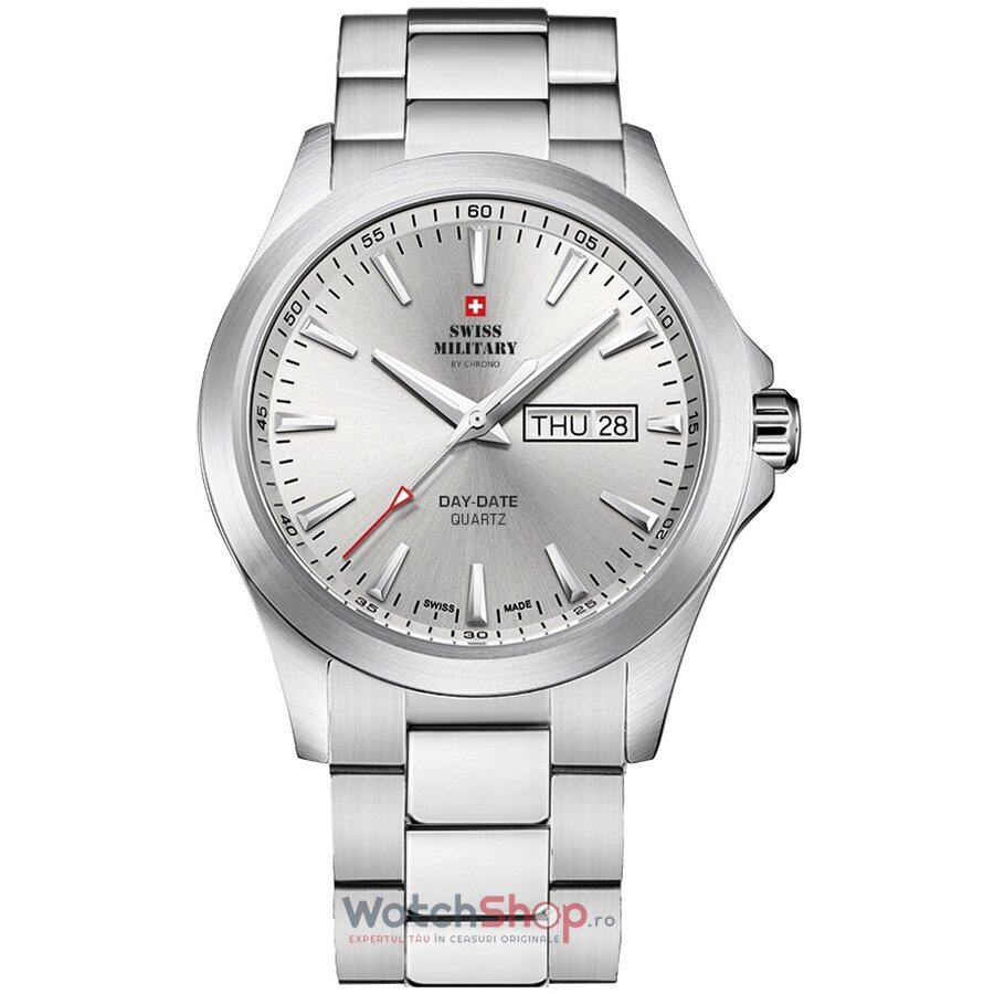 Ceas Swiss Military by Chrono SMP36040.23 original barbatesc