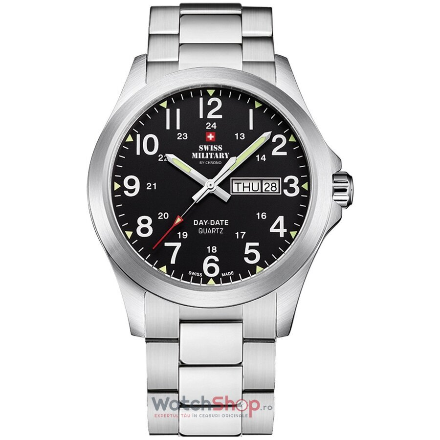 Ceas Swiss Military by Chrono SMP36040.25 original barbatesc