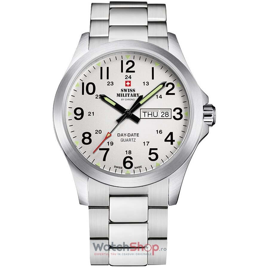 Ceas Swiss Military by Chrono SMP36040.26 original barbatesc