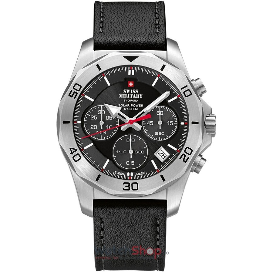 Ceas Swiss Military by Chrono SMS34072.04 Cronograf Solar barbatesc de mana