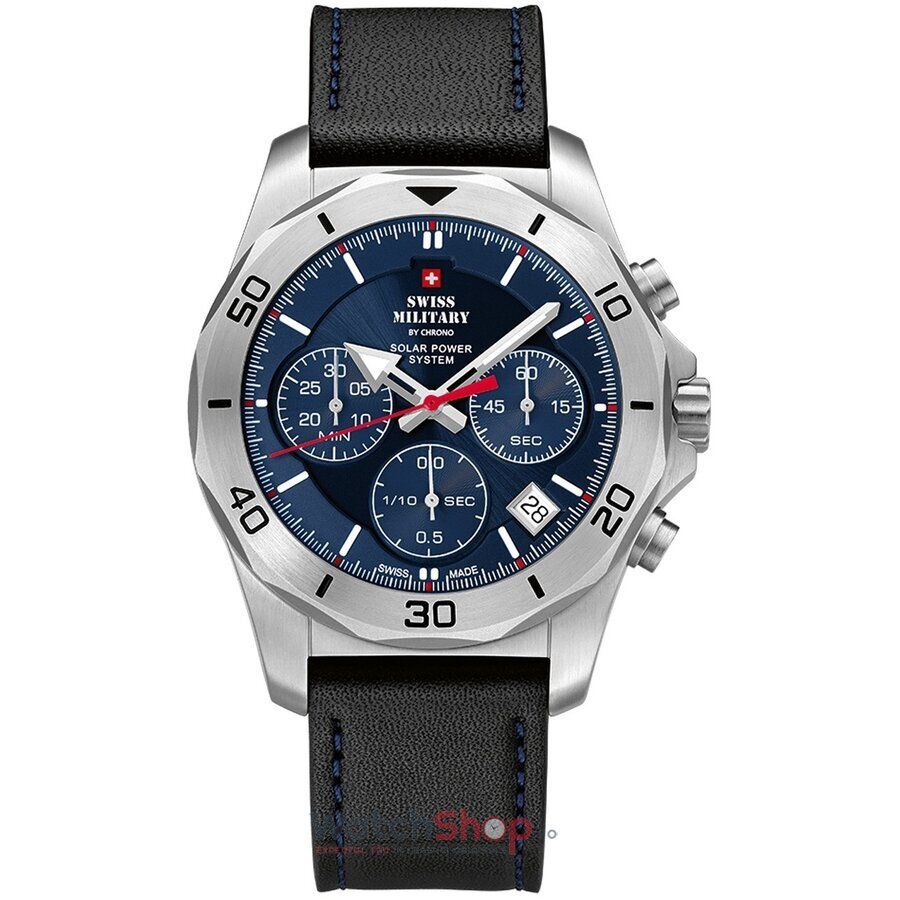 Ceas Swiss Military by Chrono SMS34072.05 Cronograf Solar barbatesc de mana