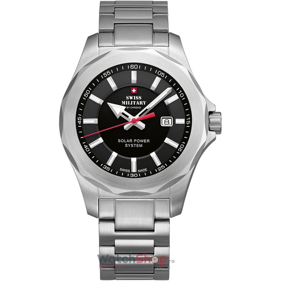 Ceas Swiss Military by Chrono SMS34073.01 Solar barbatesc de mana