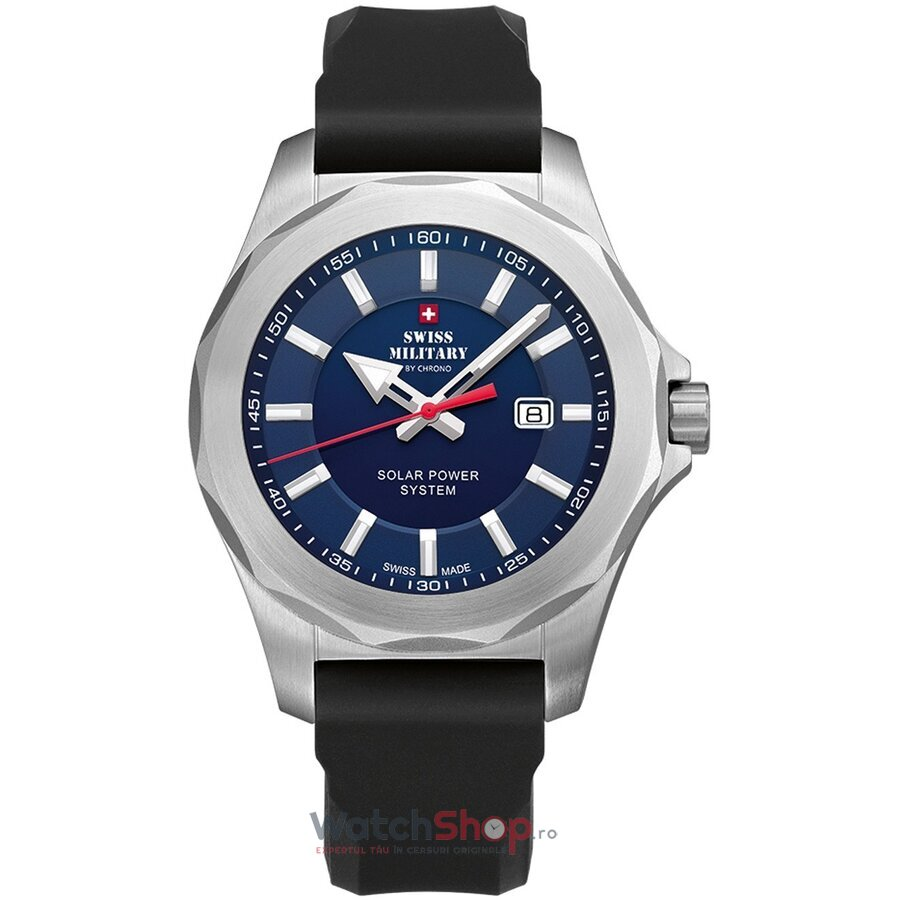 Ceas Swiss Military by Chrono SMS34073.08 Solar barbatesc de mana