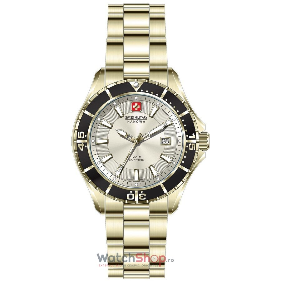 Ceas Swiss Military by Hanowa 06-5296.02.002 Nautila barbatesc de mana