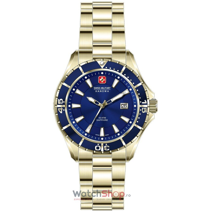 Ceas Swiss Military by Hanowa 06-5296.02.003 Nautila barbatesc de mana