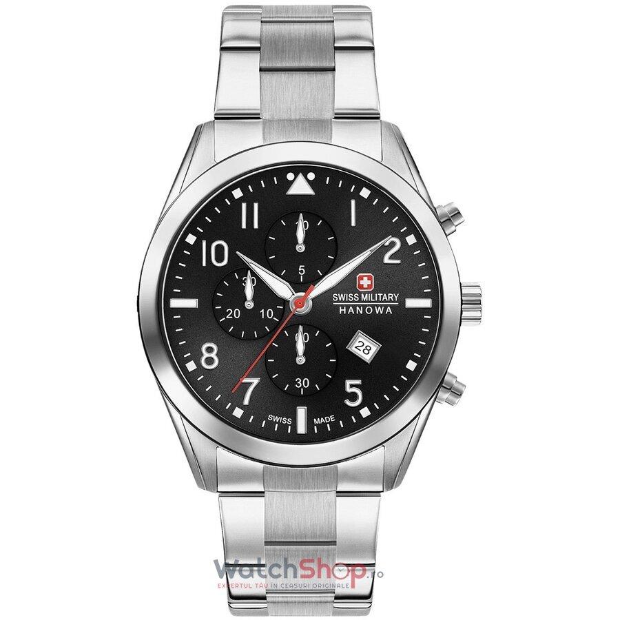 Ceas SwissMilitary by Hanowa Helvetus 06-5316.04.007 Cronograf barbatesc de mana