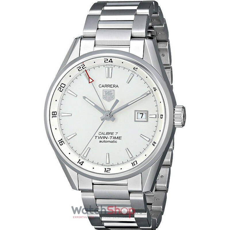 Ceas TAG Heuer CARRERA WAR2011.BA0723 TWIN TIME barbatesc de mana