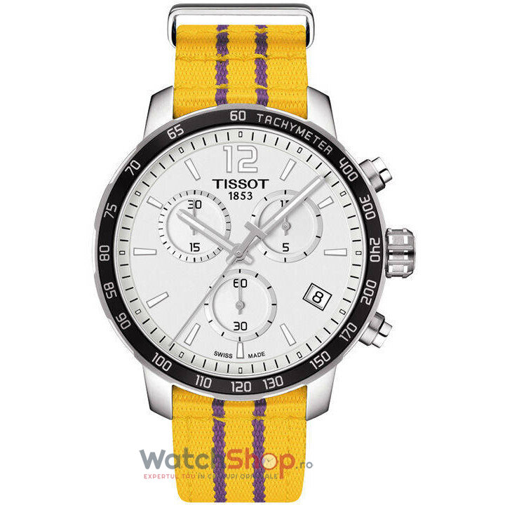 Ceas Tissot SPECIAL COLLECTIONS T095.417.17.037.05 NBA Los Angeles Lakers barbatesc de mana