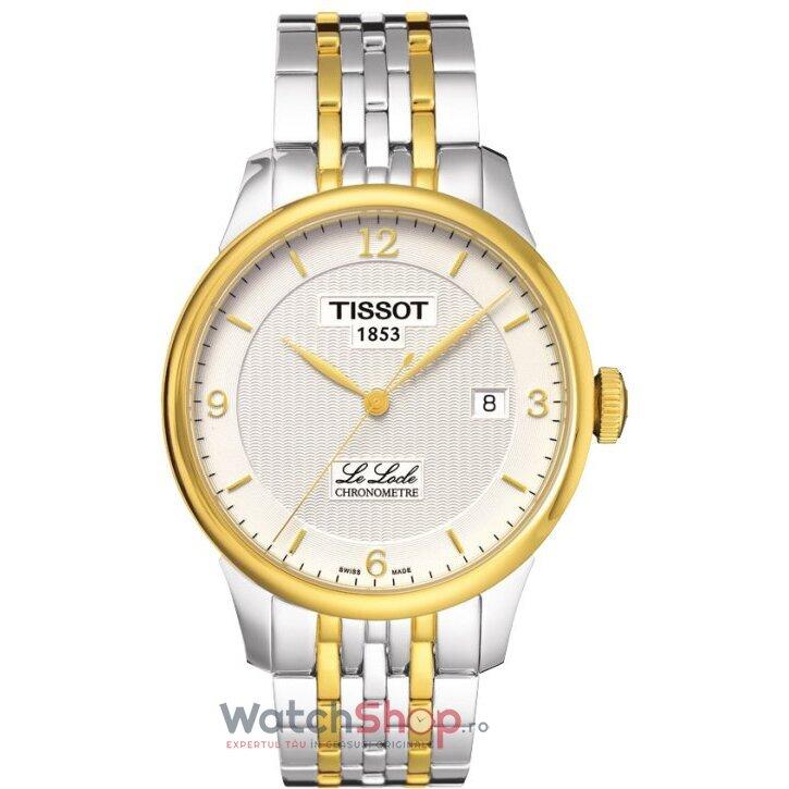 Ceas Tissot T-CLASSIC T006.408.22.037.00 Le Locle Automatic Gent COSC barbatesc de mana