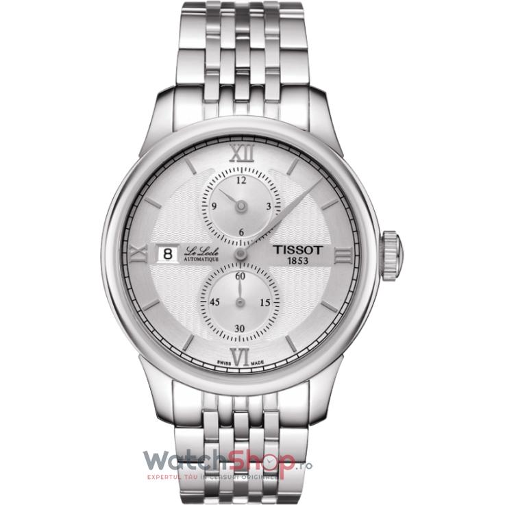 Ceas Tissot T-CLASSIC T006.428.11.038.02 Le Locle Automatic Régulateur barbatesc de mana