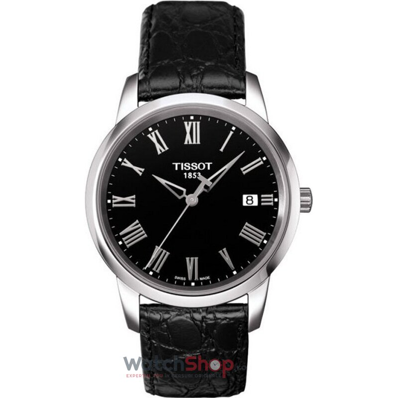 Ceas Tissot T-CLASSIC T033.410.16.053.01 Classic Dream Black original barbatesc