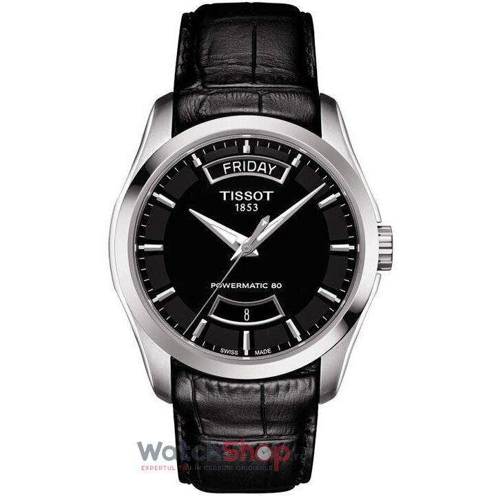 Ceas Tissot T-CLASSIC T035.407.16.051.02 Couturier Automatic barbatesc de mana