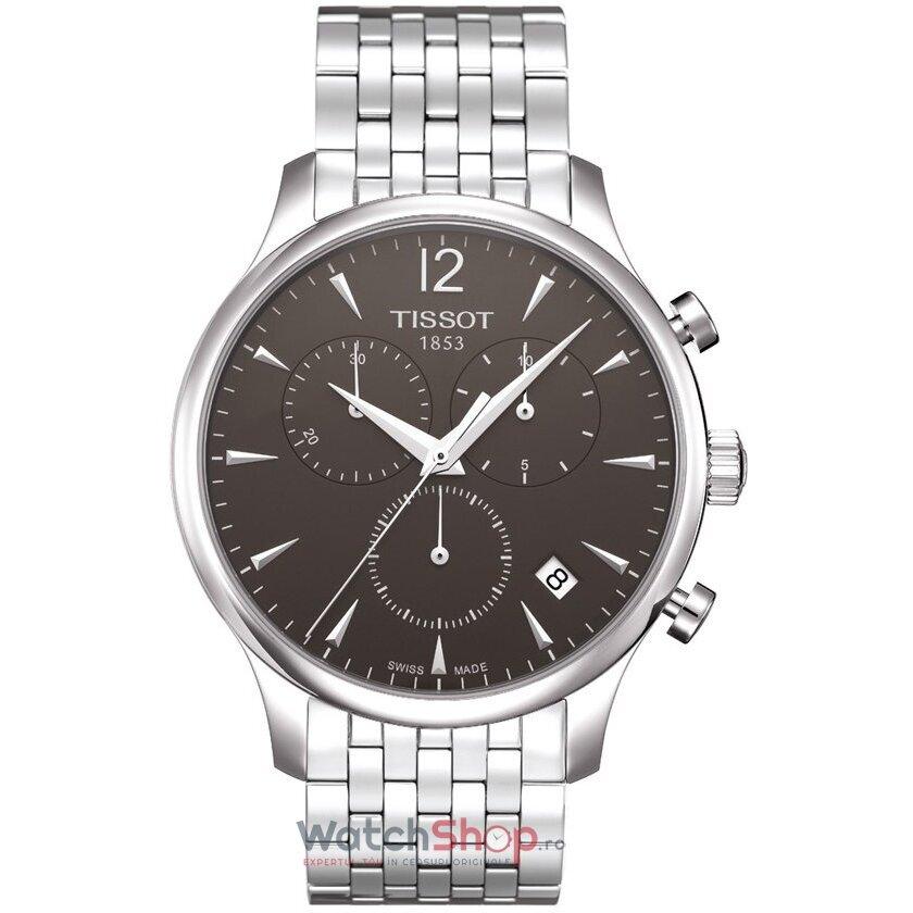 Ceas Tissot T-CLASSIC T063.617.11.067.00 Tradition Cronograf barbatesc de mana