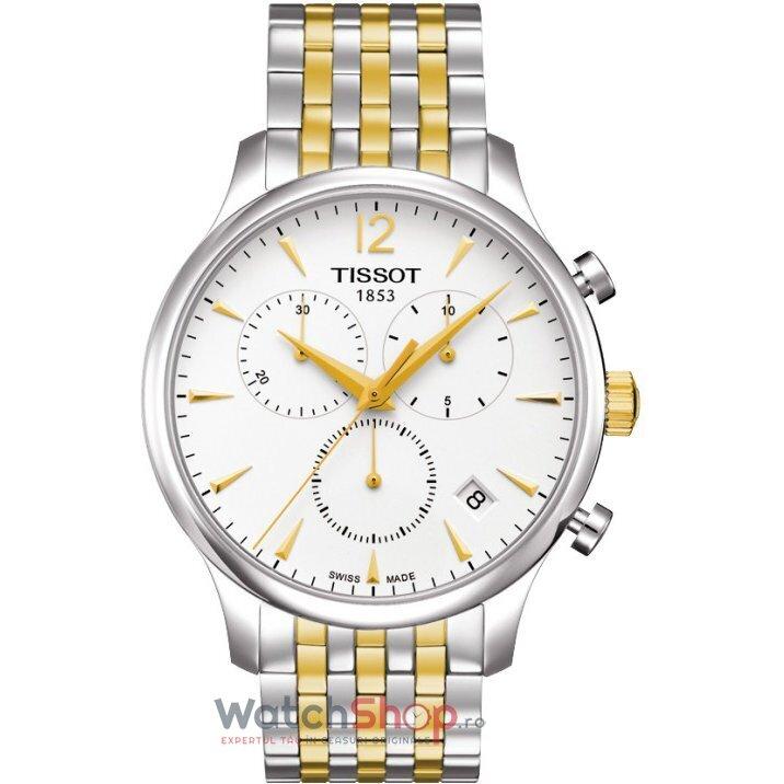 Ceas Tissot T-CLASSIC T063.617.22.037.00 Tradition Cronograf barbatesc de mana